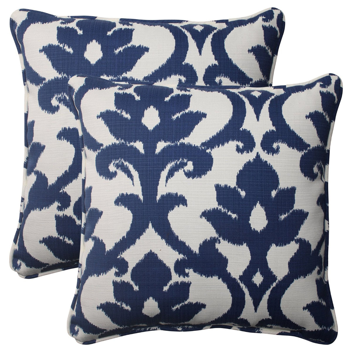 blue throw pillow my blog - Blue Decorative Pillows