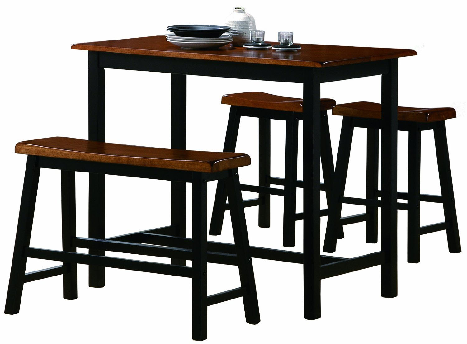 Counter height kitchen tables home decorator shop for Kitchen table sets with bench