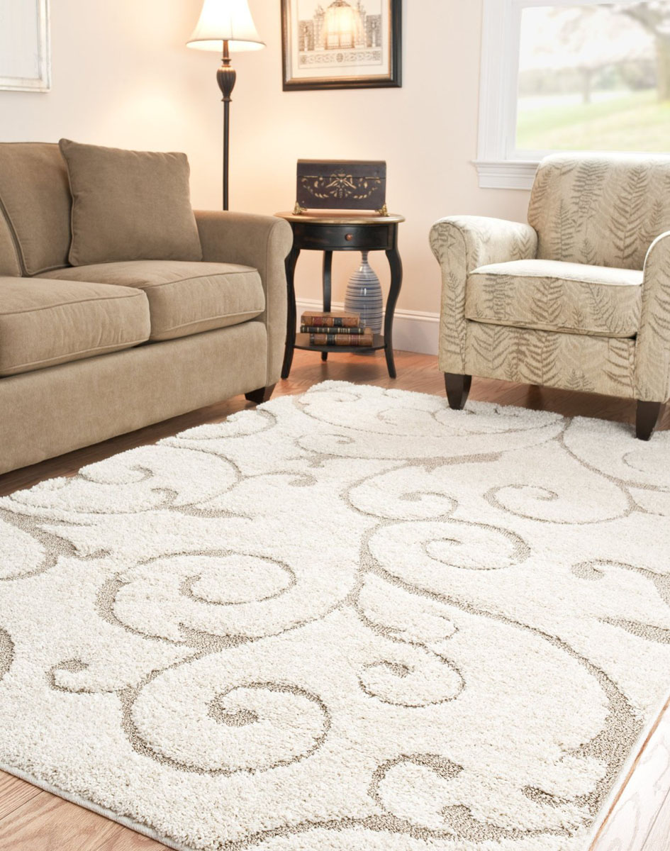 shag area rugs cream and beige 8 10 shag area rug for living room