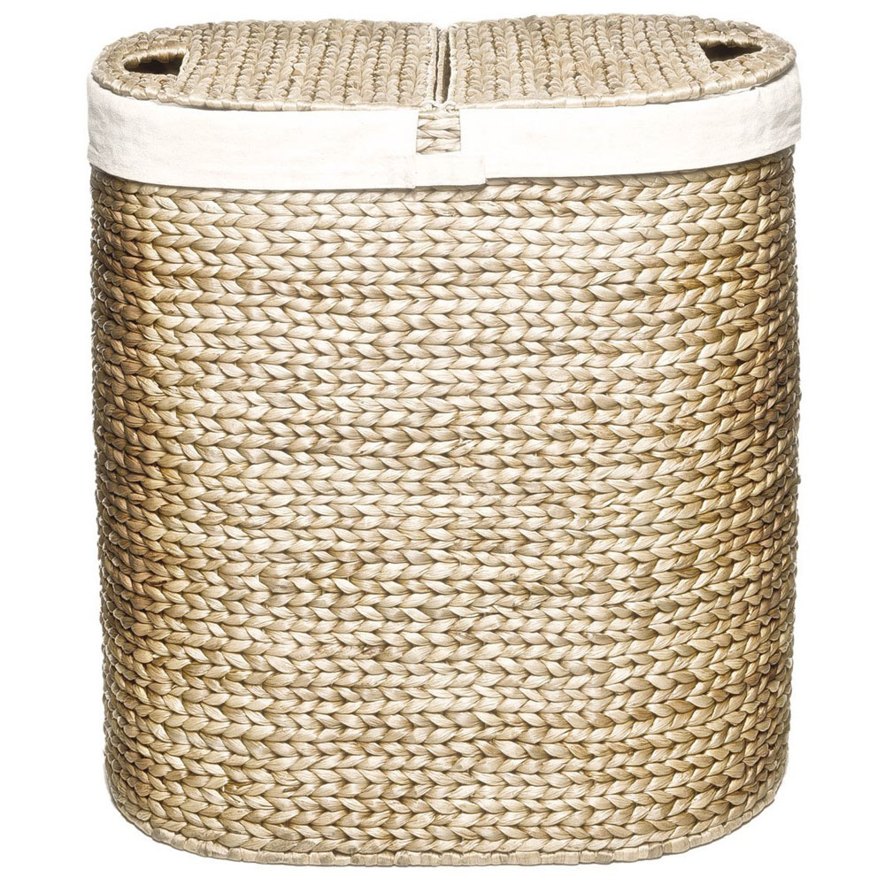 Wicker laundry hamper home decorator shop - Rattan laundry basket with lid ...