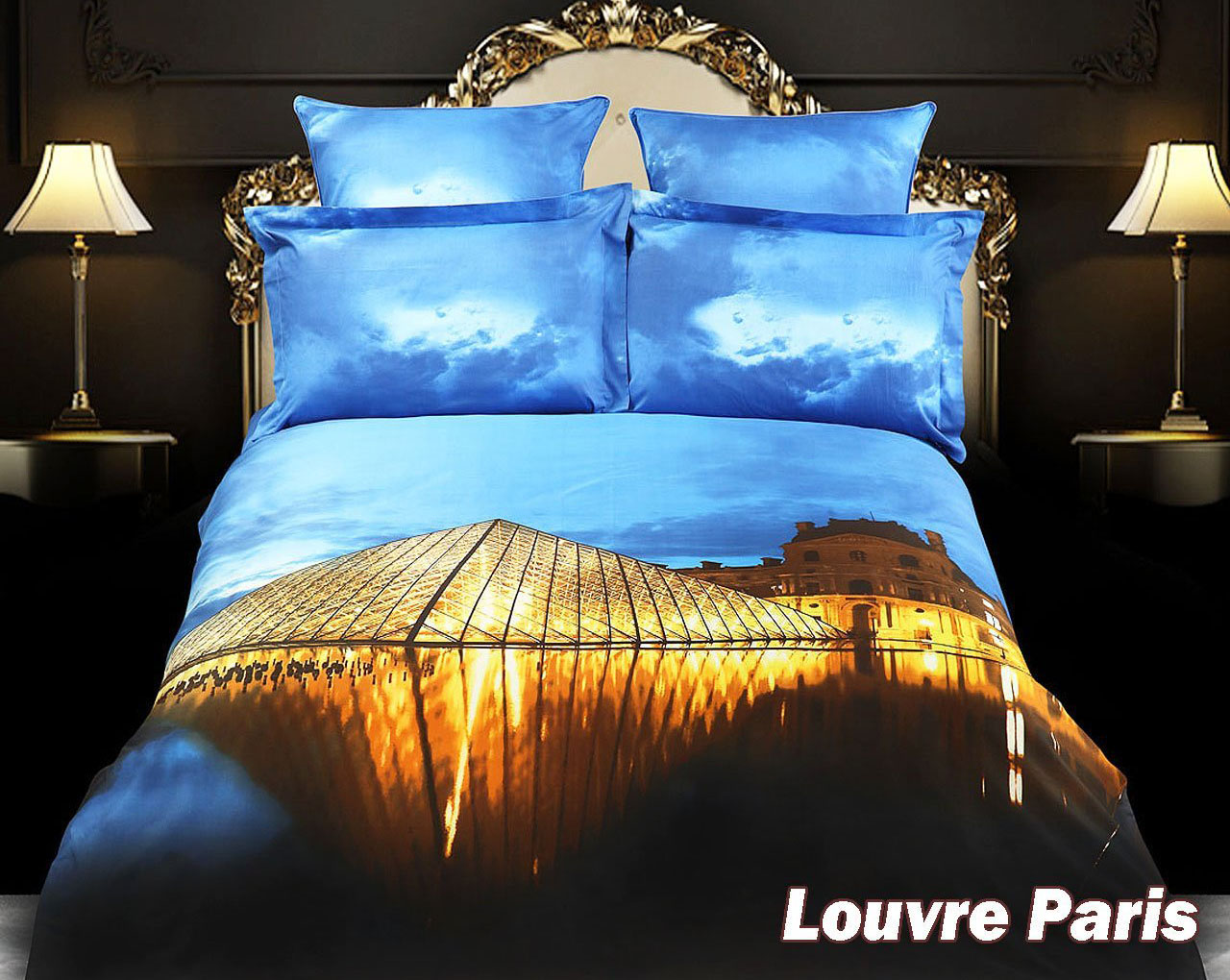 Louvre Duvet Cover Set