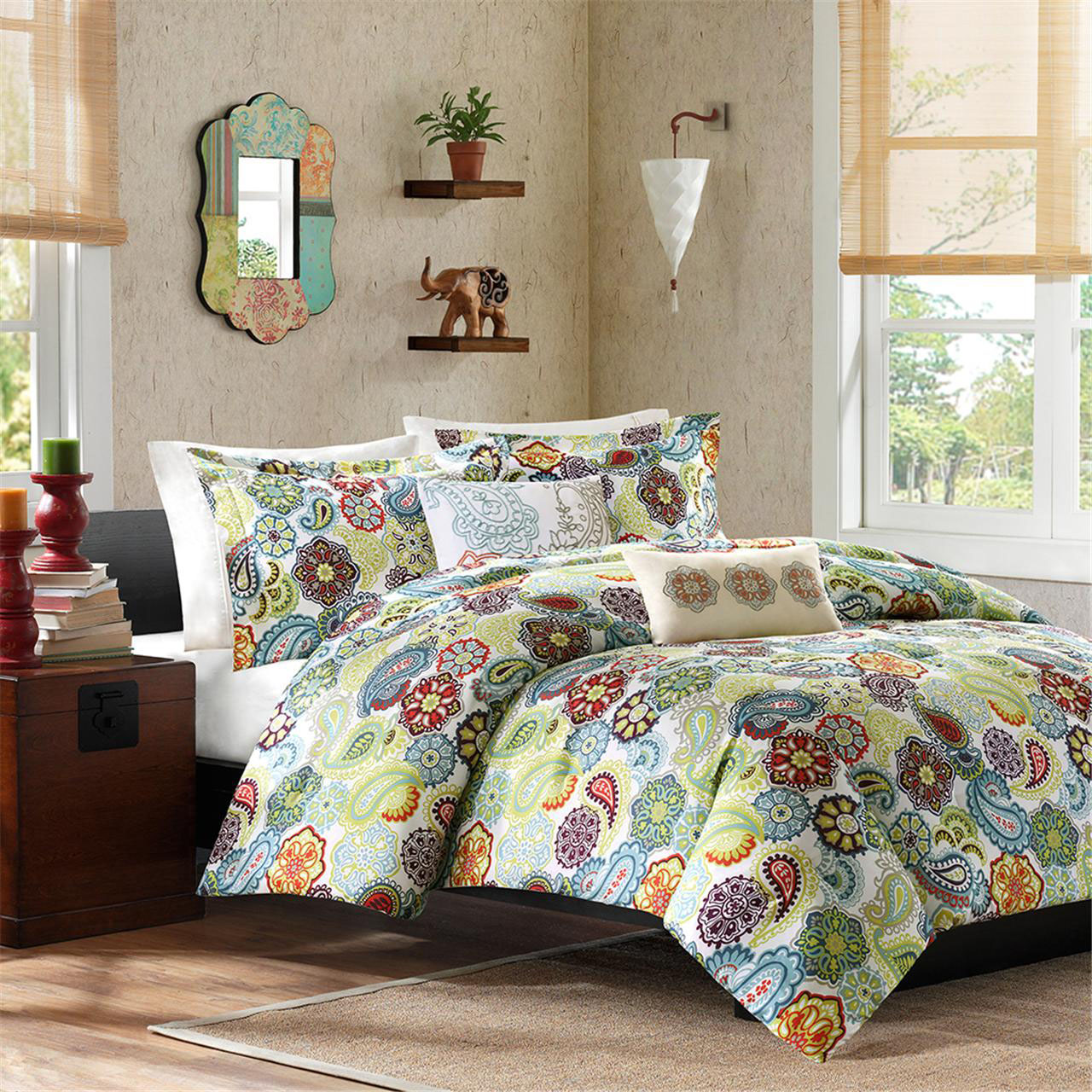 bedspreads and comforters  home decorator shop - tamil king comforter bedding set