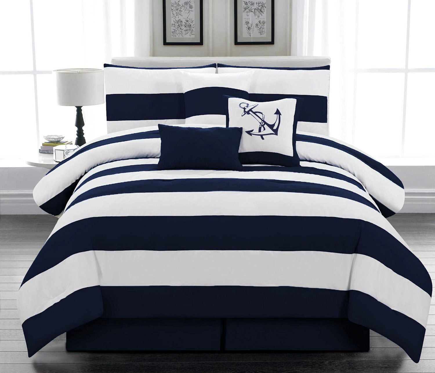 Nautical Themed Bedding Set
