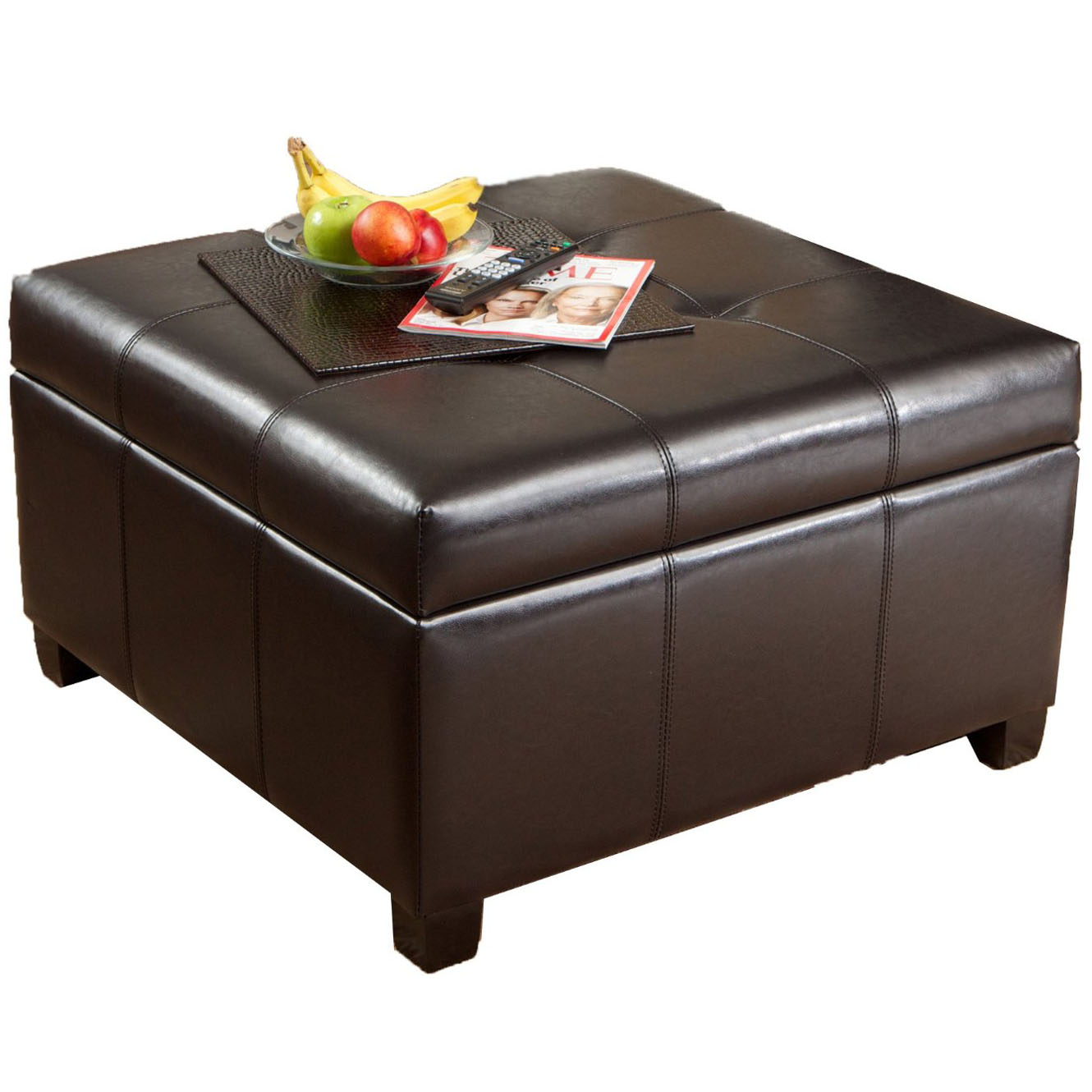 Round Ottoman With Storage Home Decorator Shop