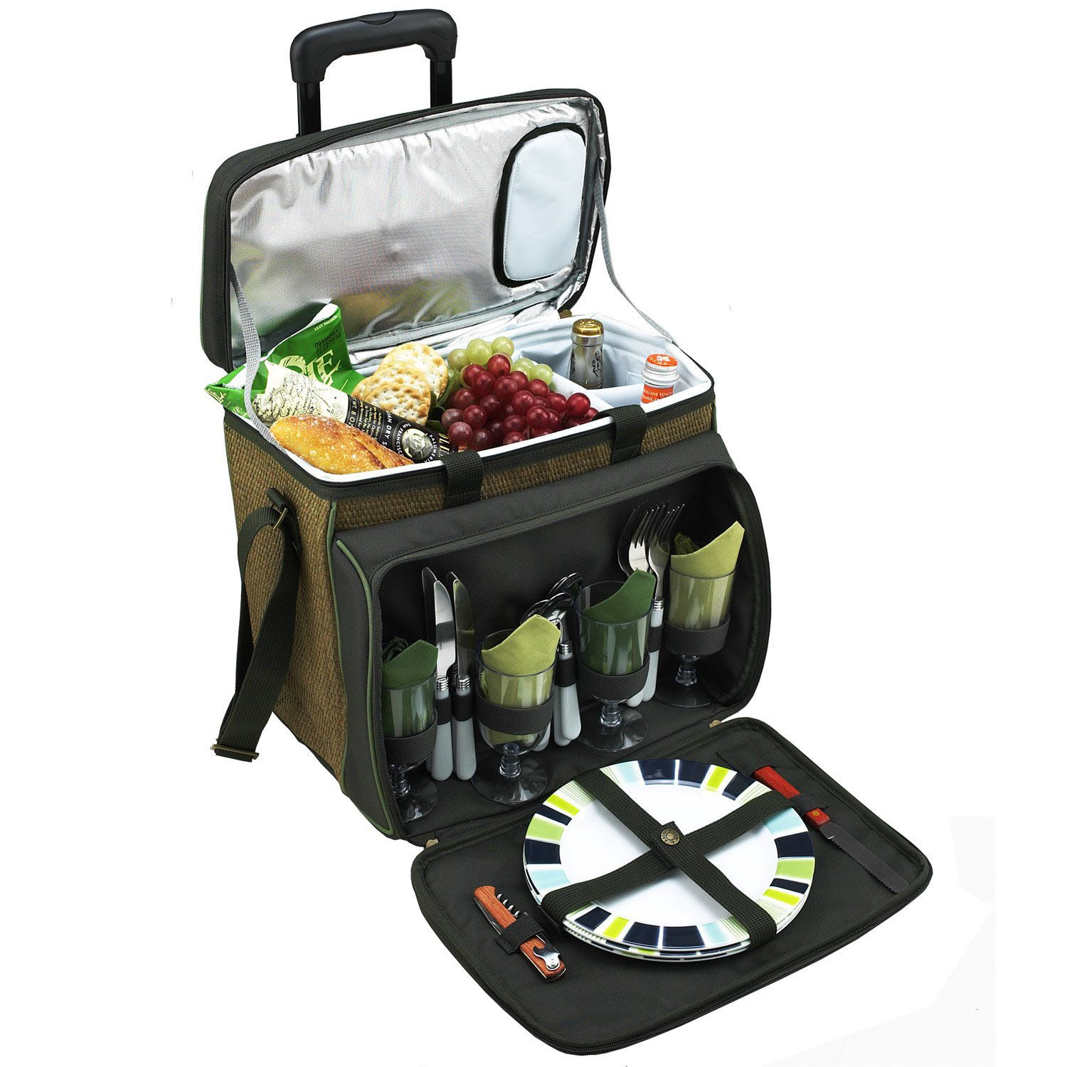 Picnic at Ascot Eco Cooler with Wheels