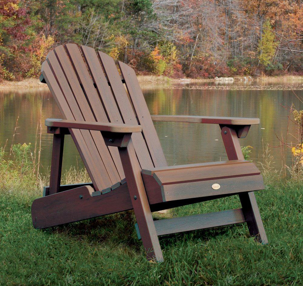 Classic Wood Adirondack Chair