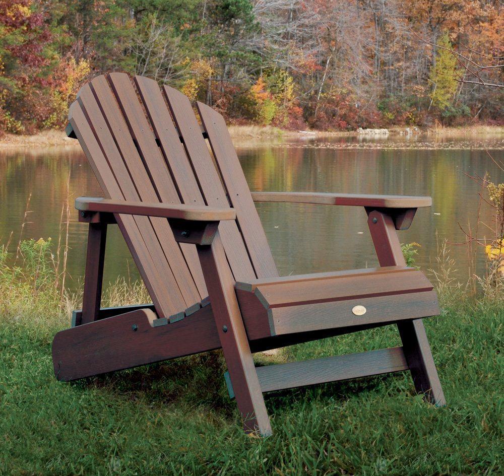 Classic Wood Adirondack Chair
