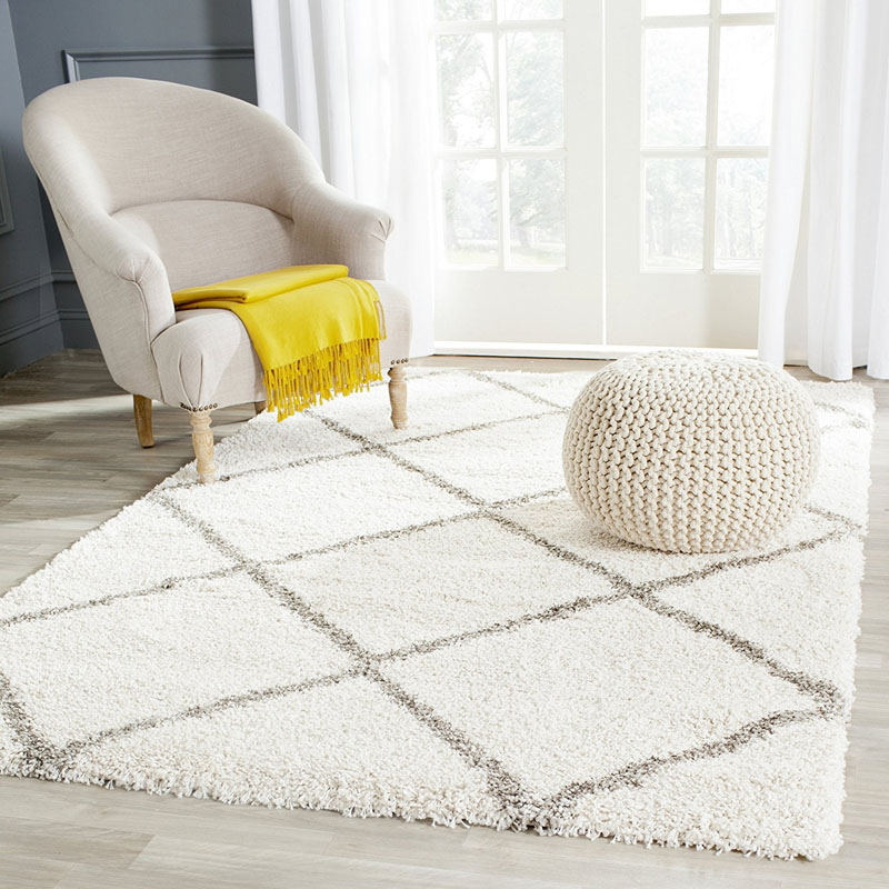 Contemporary Shag Area Rug