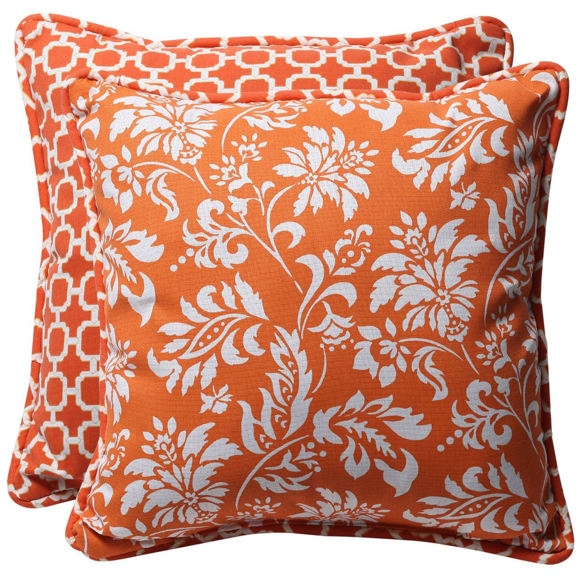 Orange-Throw-Pillows