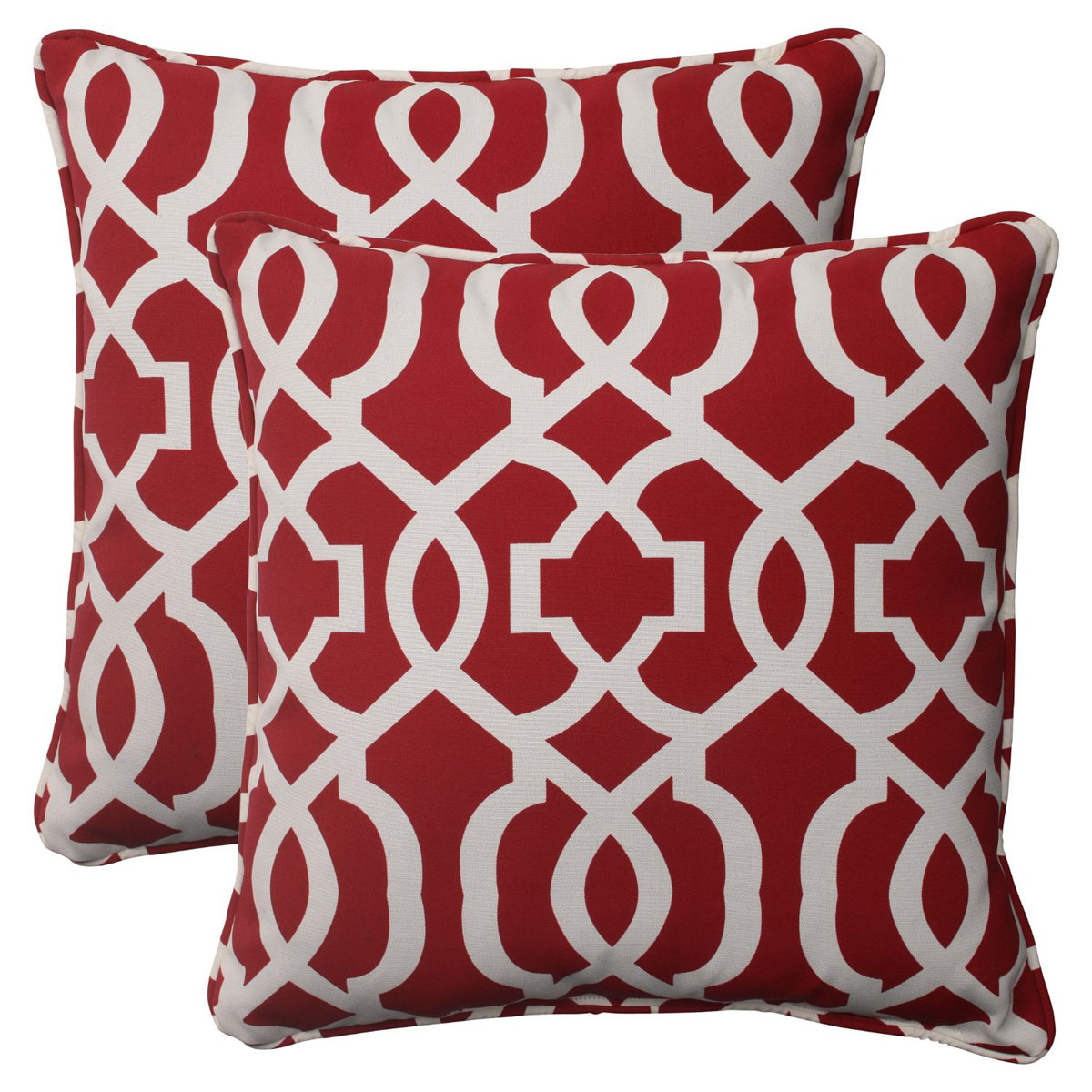 Red Decorative Pillows Throw For Couch