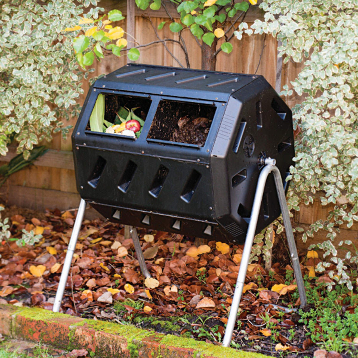 Rotating Composter Compost Barrel For