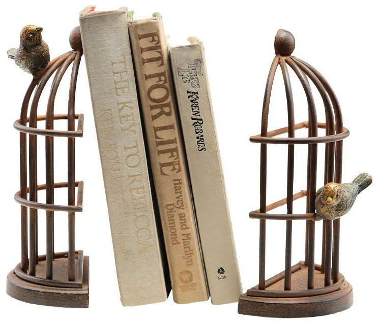 Unique Bookends
