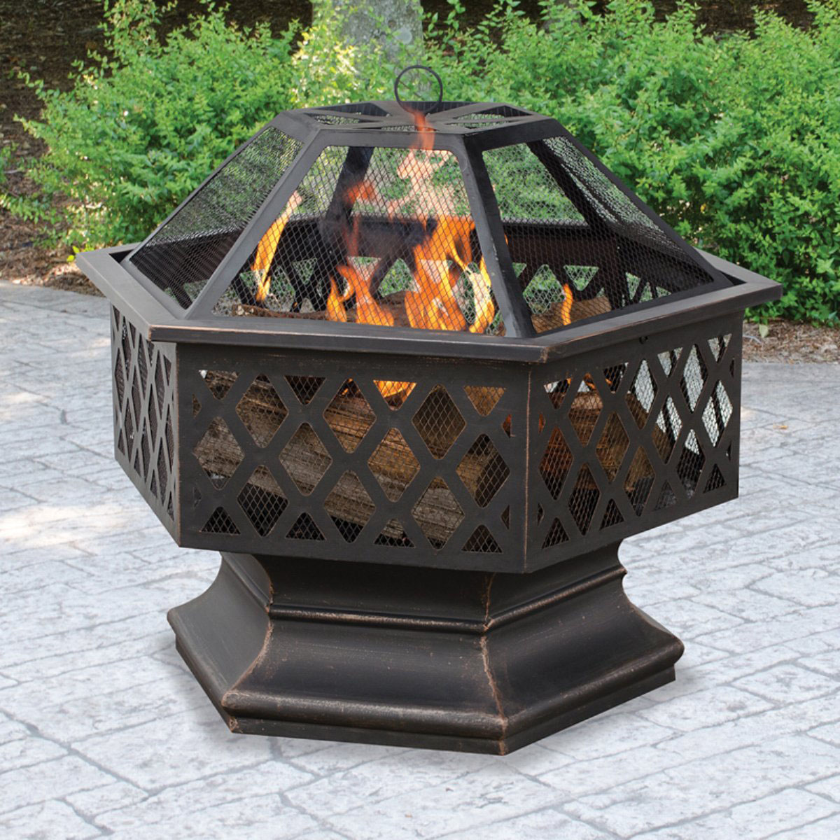 Wood Burning Fire Pit for the Home